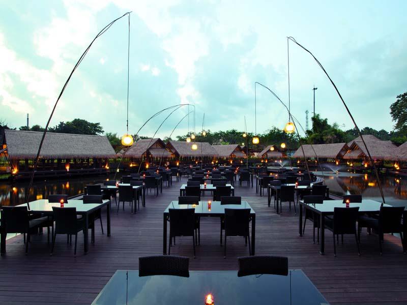 Indoor outdoor wedding venue