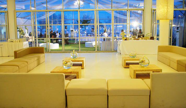 indoor outdoor wedding