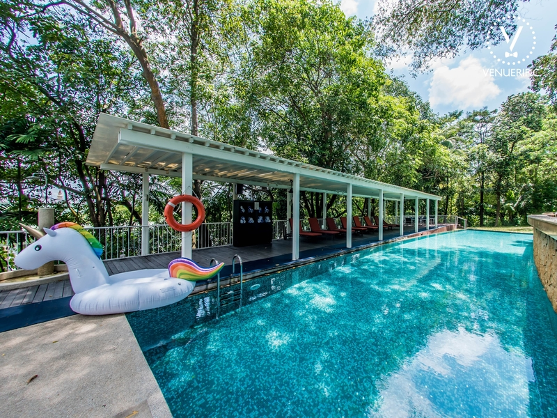 pool side party in singapore