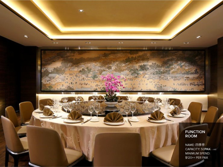 Cantonese Restaurant in Singapore to dine and impress your clients