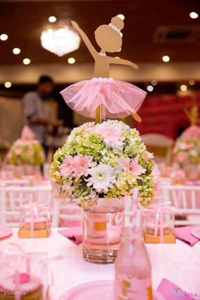 ballets theme for baby shower decoration