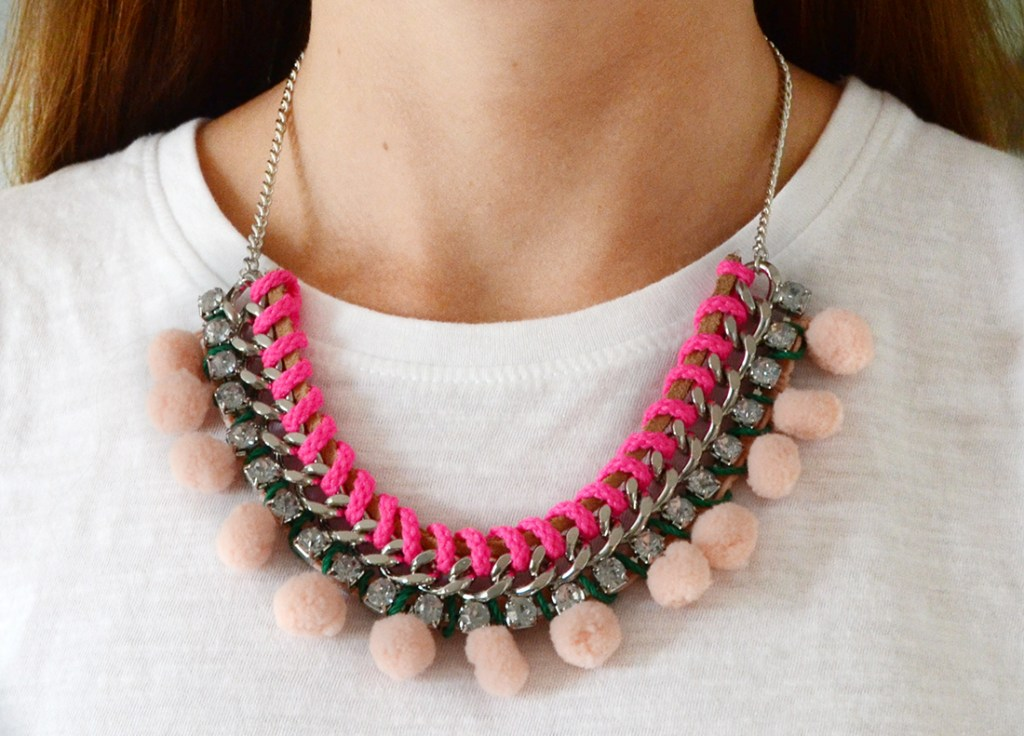 CNY-outfits-venuerific-blog-shoes-inspiration-statement-jewellery-pom-pom-chained-necklace