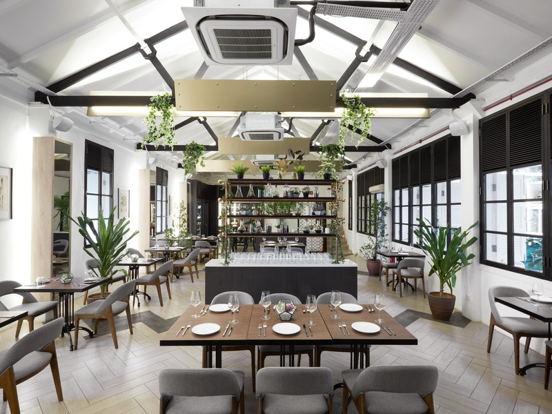 spacious and bright event space in Singapore by one group