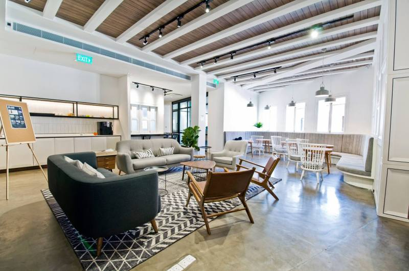 unique and spacious coworking space singapore