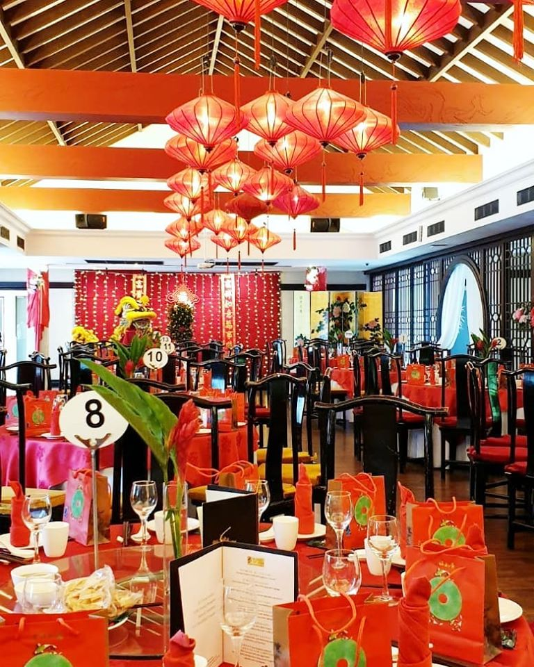 oriental decoration for chinese new year celebration