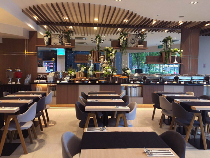 Singapore dining restaurant with gastronomical experience