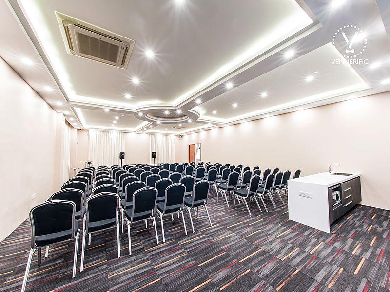 Seminar setup for corporate functions at vertex duo