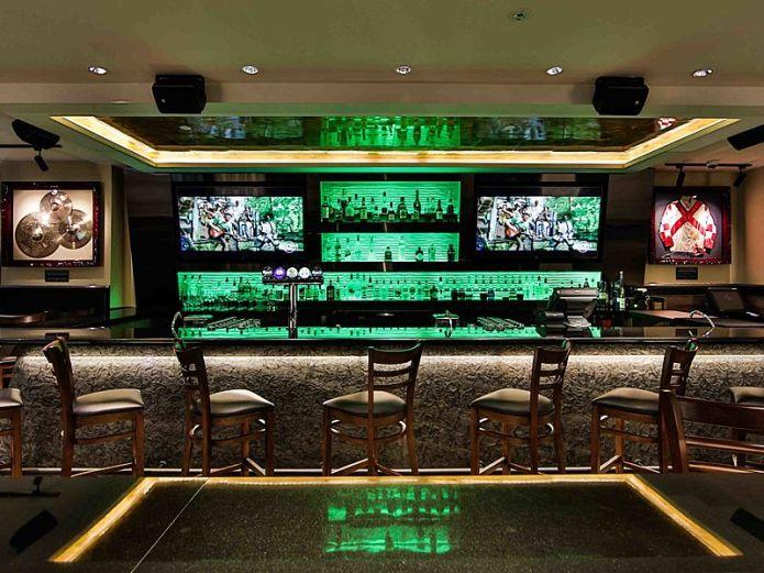 Hard Rock Singapore bar area