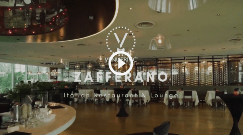 zafferano italian restaurant & lounge video by venuerific