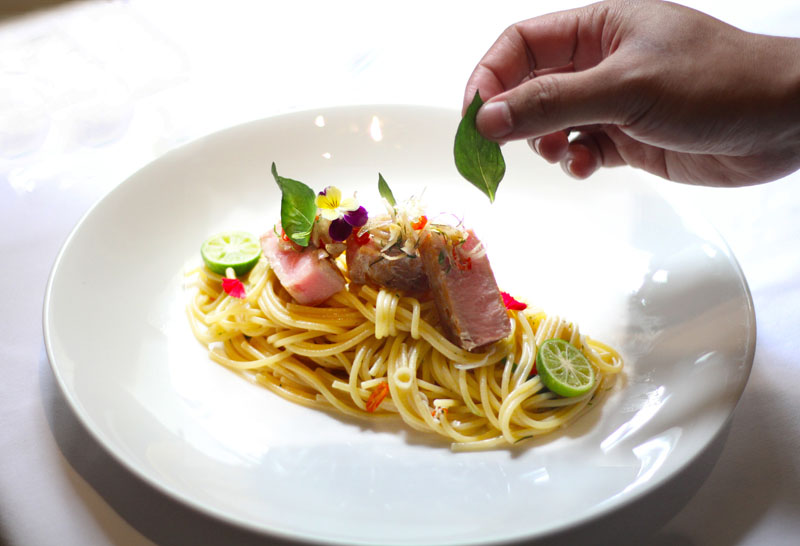 Authentic Italian cuisine from L'Avenue Restaurant jakarta