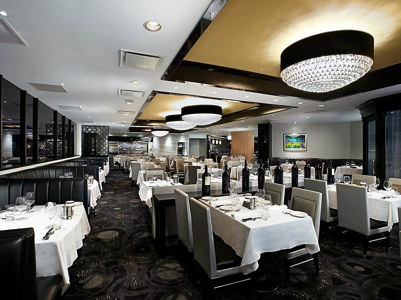 Elegant restaurant for dining event singapore