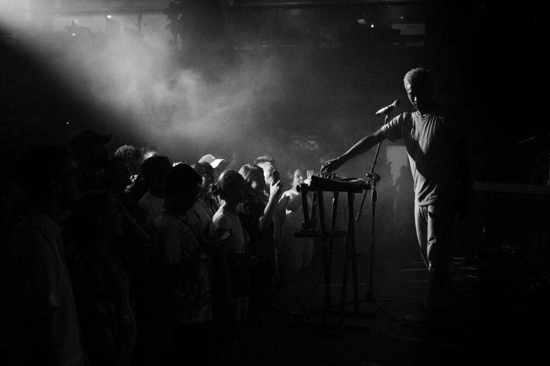 jaden smith performance at 222 arts club