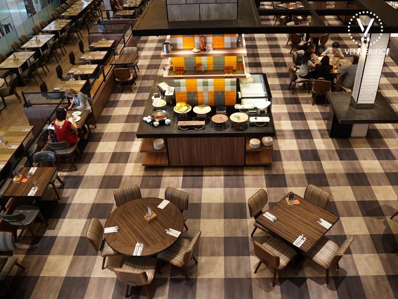 cozy buffet restaurant hotel jen tanglin singapore