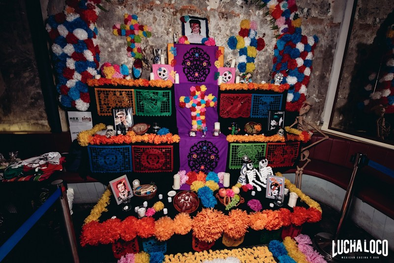 celebrate the day of the dead party lucha loco singapore