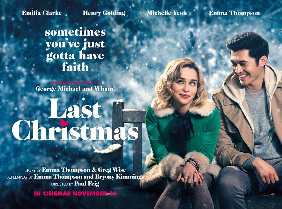 last christmas movie poster december holidays