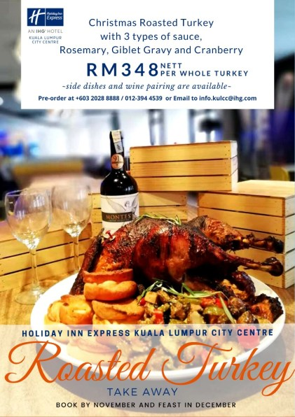 Where to find Christmas Dinner promotion in Kuala Lumpur