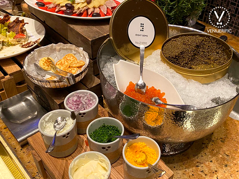 the only hotel with amazing caviar