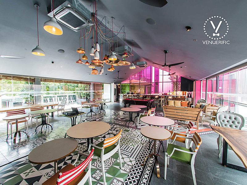 multifunctional venue with cosy vibe