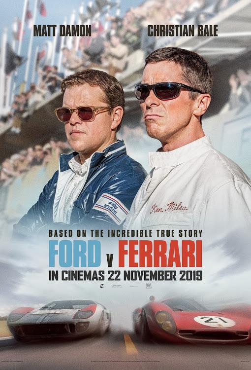 ford versus ferrari movie poster