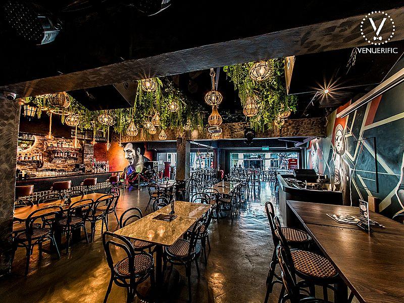 Gabbar restaurant, perfect for singles Valentine's Day