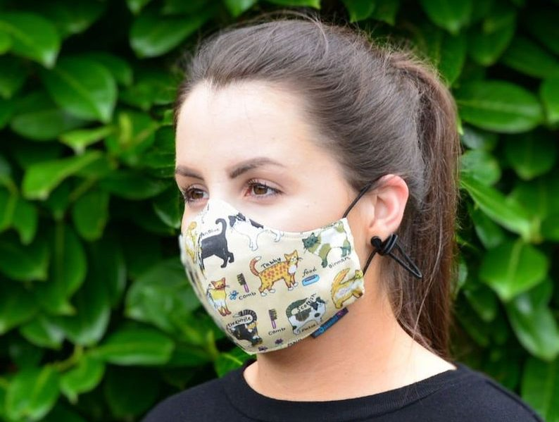 Fashionable surgical masks to prevent Wuhan Coronavirus