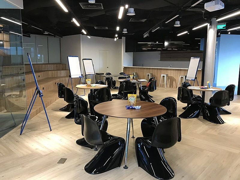 Fully equipped conference room