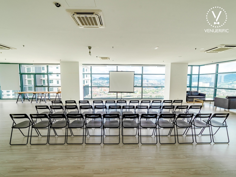 Event Space with a magnificent view