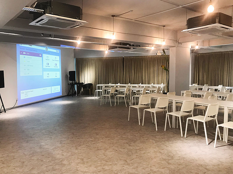 event space for corporate meetings or parties