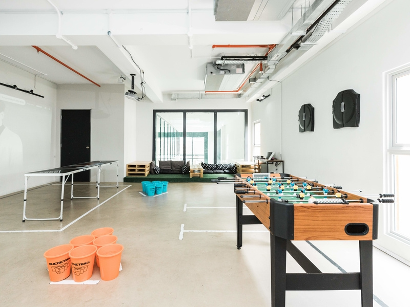 spacious event space for 50 pax