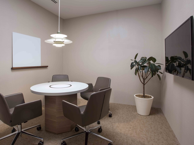 Small meeting room for corporate