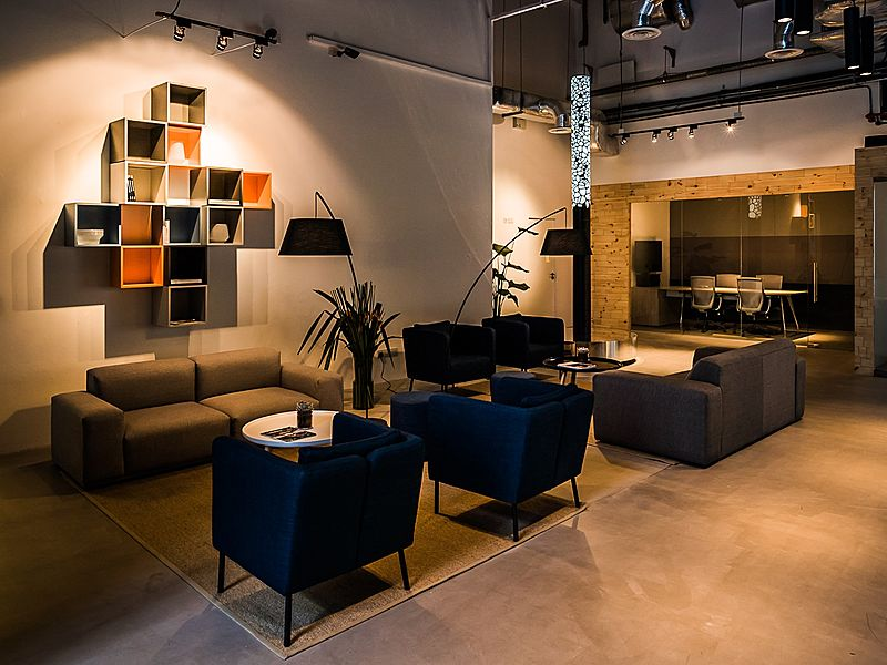 sofas for comfortable meetings at The Company