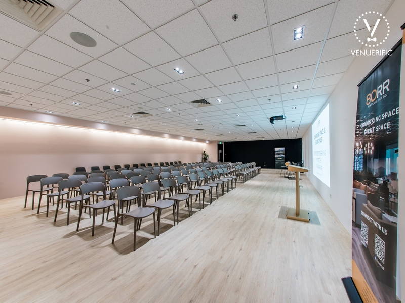 corporate seminar at 80rr fintech hub singapore