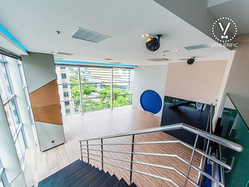customisable event space at orchard for corporate events