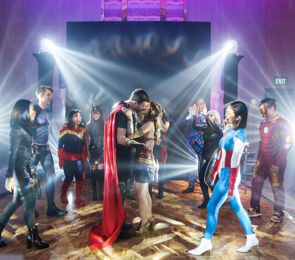 unique superhero wedding attire