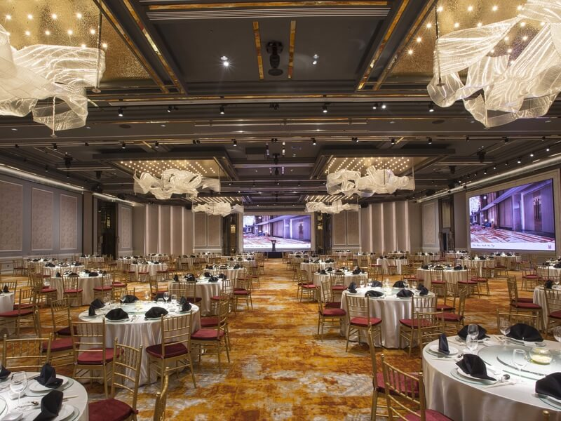 Orchard Hotel Singapore wedding ballroom