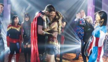 superheroes wedding theme