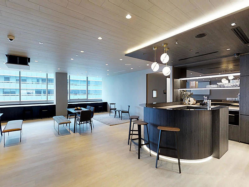 corporate venue meeting area at harbourfront
