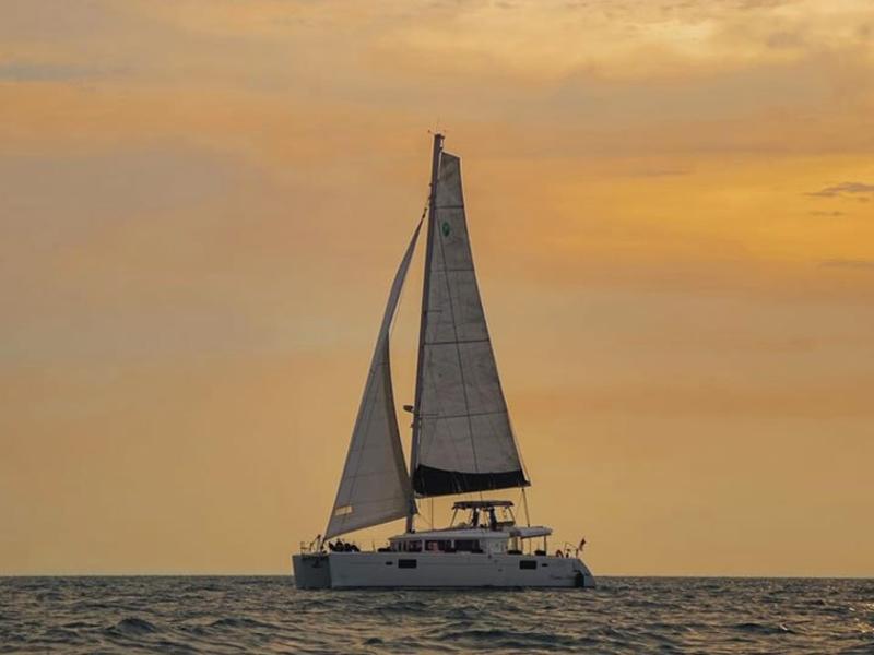 yacht on sail