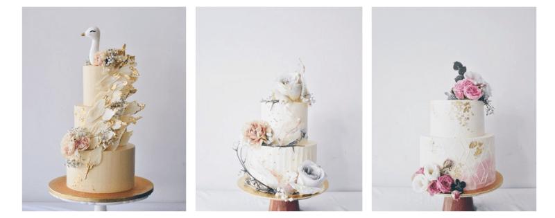 2 layered cakes