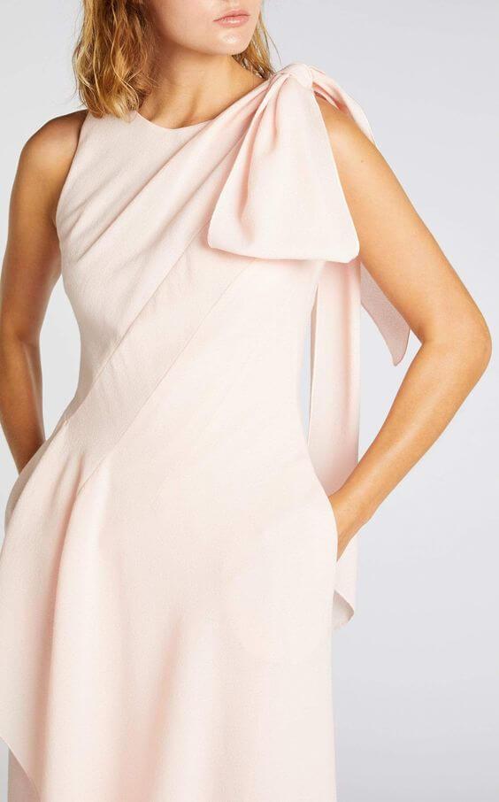 lady in pink dress