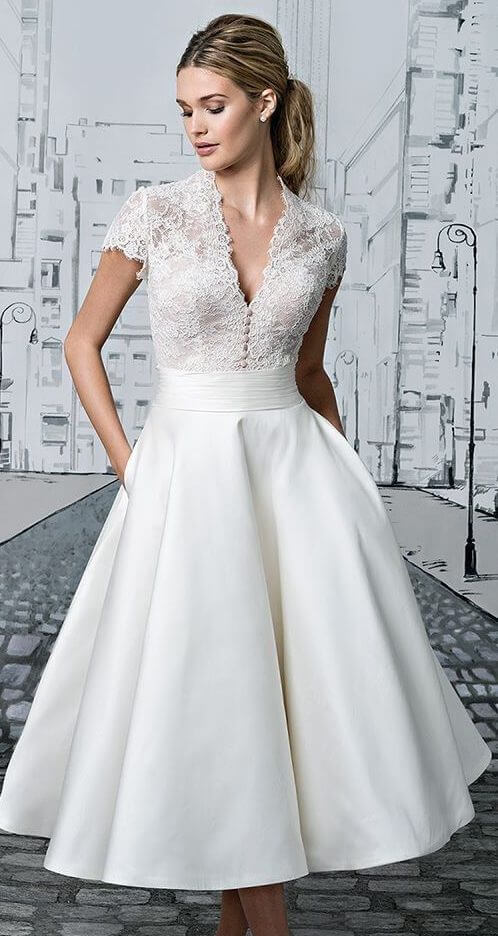 lady in white wedding gown