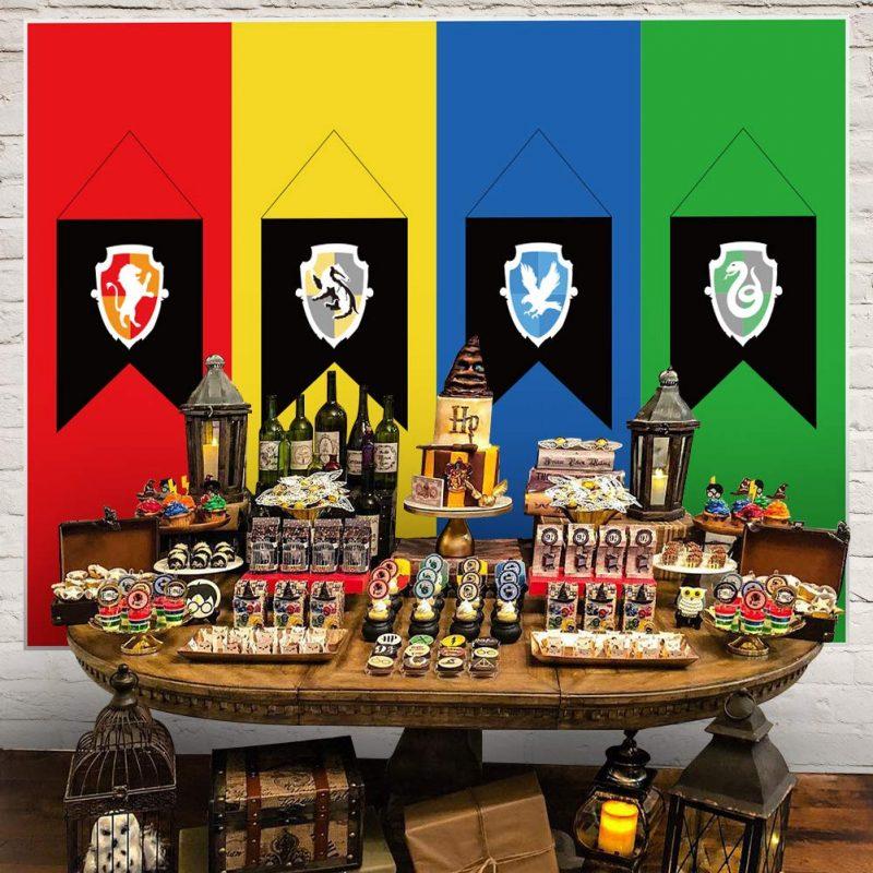Harry Potter Birthday table set up