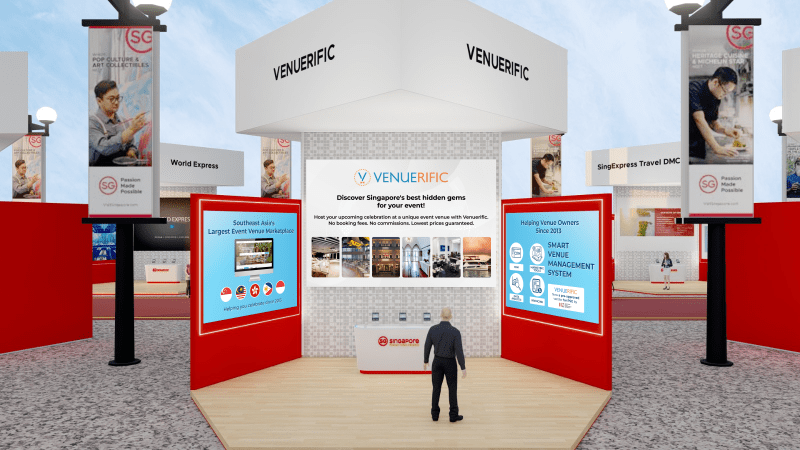 Virtual booth for Venuerific