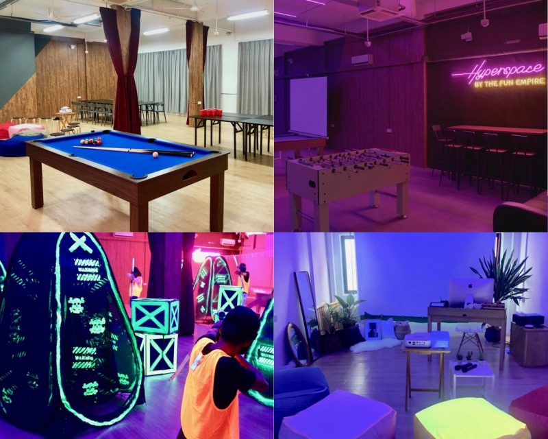 A collage of Hyperspace venue's photos