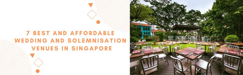 best affordable wedding solemnisation venues singapore