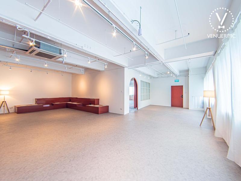 Virtual Wedding Venue spacious