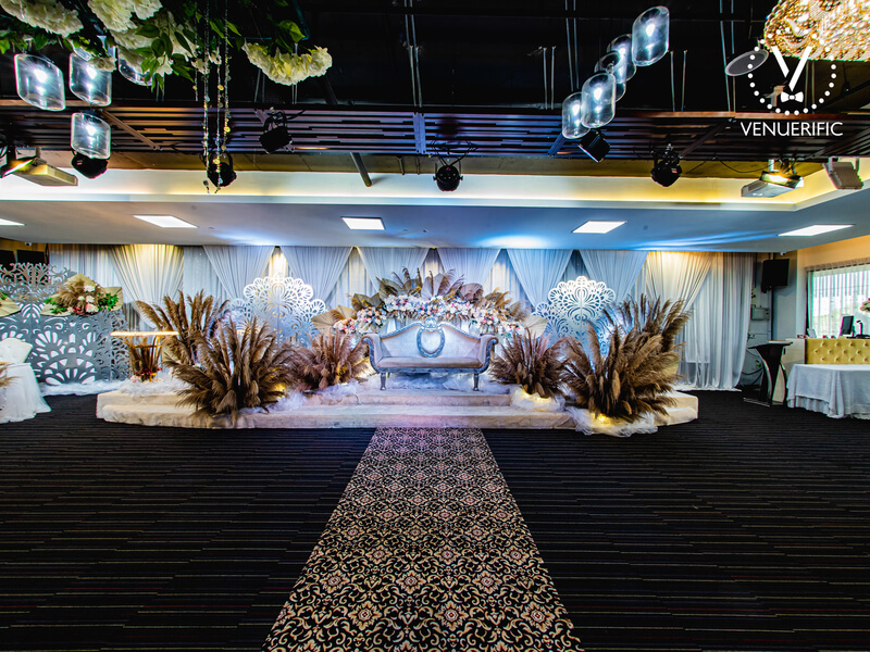 Beautiful function hall for wedding