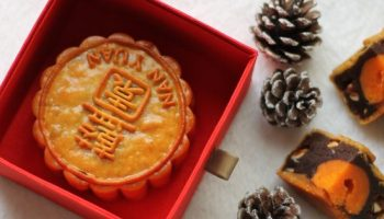 mooncake in a red box