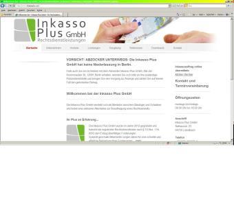 Inkasso_Plus_GmbH_Startseite
