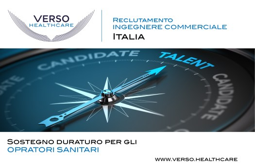 RECLUTAMENTO INGEGNERE COMMERCIALE ITALIA